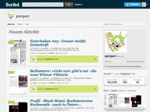 screenshot scribd